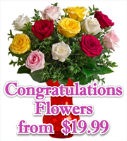 Congratulations Flowers & Gifts
