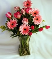 Pink Joy Bouquet for Mom