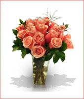 24 Romantic Pink Roses