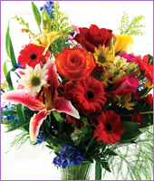 Brighten Mom's Day Bouquet