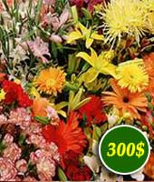 Flowers for 300$