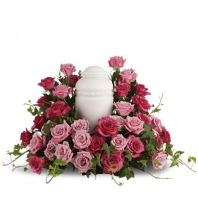 Rose Symphony Urn Arrangement