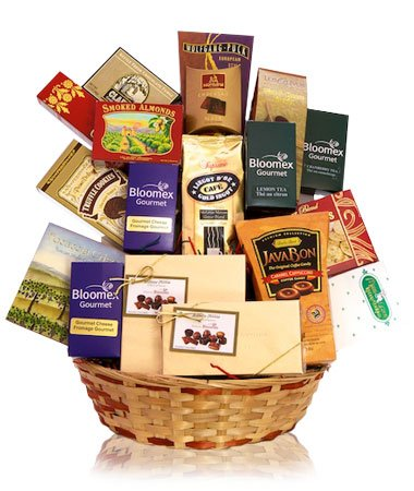 Rich Tastes Gift Basket