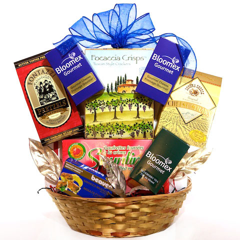 Perfect Indulgence Gift Basket