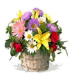 Joy of Flowers Basket