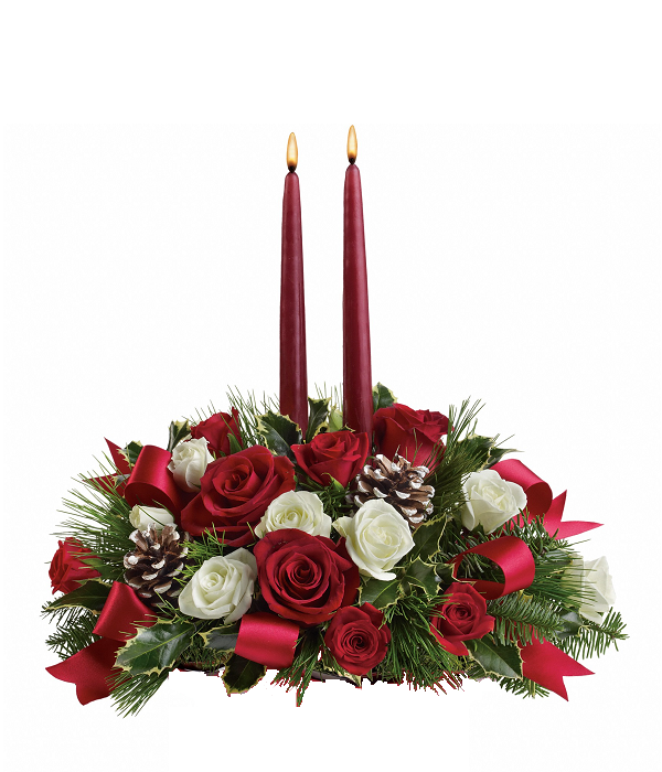 Colors of Christmas Centrepiece