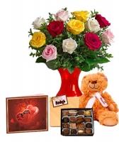 Dozen Mixed Roses Special