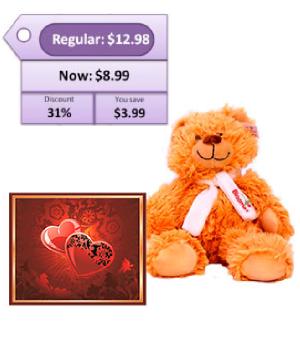 Card & Teddy