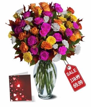 100 Florecimientos de Rosas